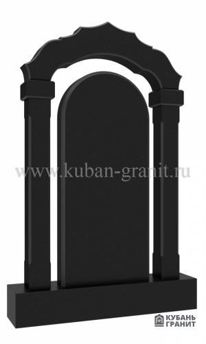 Гранитный памятник с аркой №34