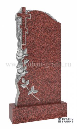 Памятник лезник гранит розы крест