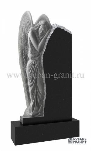 Гранитный памятник с ангелом №57