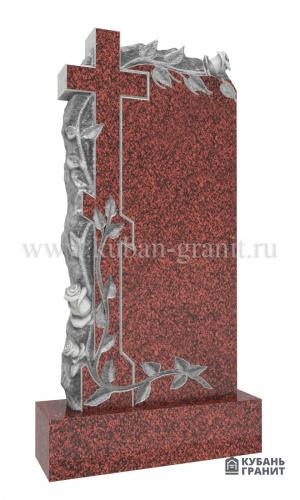Памятник лезник гранит крест розы