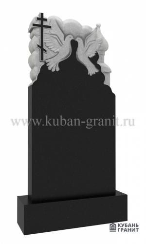 Гранитный резной памятник №71