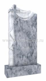 Мраморный памятник с крестом 4