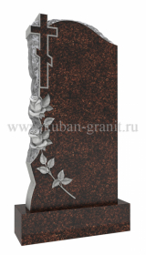 памятник дымовский гранит крест с розами