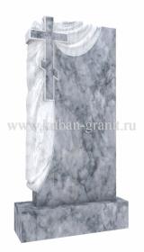 Мраморный памятник с крестом 6