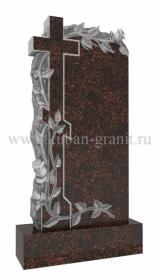 Памятник дымовский гранит Крест и розы