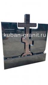 Памятник семейный из гранита с крестом 01