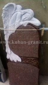 Памятник токовский гранит ангел