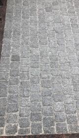Гранитная брусчатка квадратная